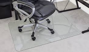 how to choose the best glass chair mat