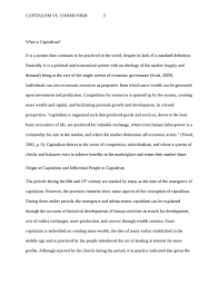 capitalism vs  communism history essay   studentsharecapitalism vs  communism essay example  college