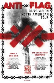 POSTPONED- <b>ANTI</b>-<b>FLAG 20/20 Vision</b> Tour With Guests BAD COP ...
