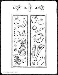 Boekenlegger Fruit En Groenten Kiddicolour