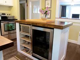 Kitchen Island Diy Diy Kitchen Island Ideas With Old Wood Security Door Stopper