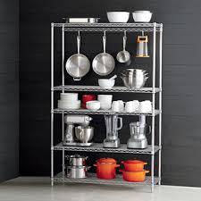 Wire Kitchen Shelves. InterMetro Kitchen Cookware Storage