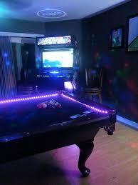pool room lighting. Picture Of Install LED Strips Pool Room Lighting 2