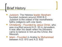 Similarities Between Islam And Christianity Venn Diagram Islam Judaism Christianity