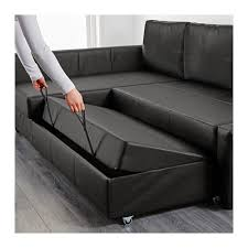 Ikea Black Leather Sofa Bed Friheten Corner Sofa Bed With Storage