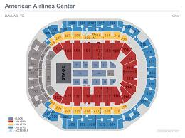 Mccaw Hall Seattle Seating Chart Seating Maps American Airlines Center