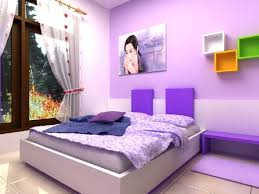 blue and purple bedrooms for girls. Plain Girls Blue And Purple Bedroom Bed On White Platform Completed Light  Black Metal Hanging   For Blue And Purple Bedrooms Girls B