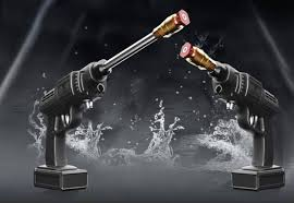 Máy rửa xe tự động dùng pin :)) - Mạnh Quân CN4.VN