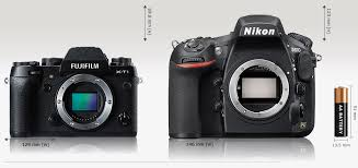 while looking at this parison we must not forget that the nikon being a dslr has the sensor further back from the mount so beware of miniaturizing