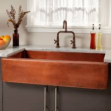 the generous depth and size of this grand sink make it suitable for larger gourmet kitchens its rous copper patina brings delight each time you use it