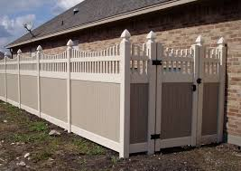 Painted Vinyl Fence Gate Dallas Future Outdoors