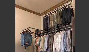 closet rod that pivots down google