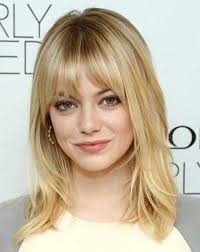 Hairstyle Bang 20 haircuts with bangs for round faces hairstyles & haircuts 8200 by stevesalt.us