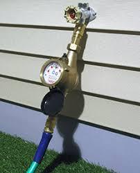 garden hose water meter. Delighful Hose WMNLC Mechanical Water Meter Between Spigot And Garden Hose For Garden Hose R