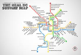 thrillist just created the most accurate dc metro map ever