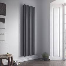 Ximax Fortuna Duplex Vertical Radiator Anthracite (H)1800 mm (W)590 mm |  Departments | DIY at B&Q