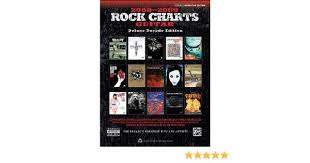 Rock Charts 2000 Amazon Com Rock Charts Guitar 2000 2009 The Decades