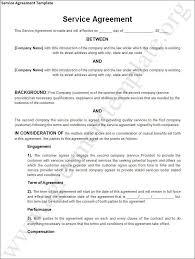 simple contract for services template 15 sample contract for services resume statement