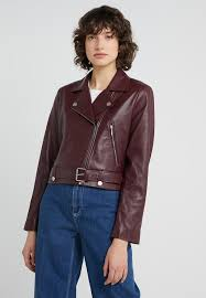 jule jacket leather jacket burdy