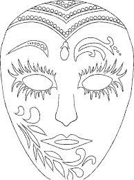 Small Picture Mardi Gras Masks Coloring Pages For Free Mardi Gras Masks Coloring