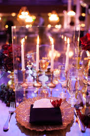 Greek Table Setting Decorations Greek Orthodox Church Ceremony Glamorous Purple Gold Reception