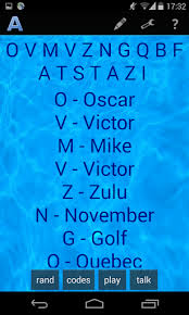 Nato phonetic alphabet is a common name for the international radiotelephony spelling alphabet which assigns code words to the letters of the english alphabet so that critical combinations of letters can be pronounced and understood by those who transmit and receive voice messages. Download Nato Icao Phonetic Alphabet Free For Android Download Nato Icao Phonetic Alphabet Apk Latest Version Apktume Com