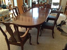 kling colonial dining room set w 6 chairs