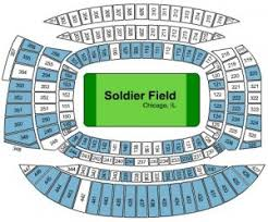 Chicago Bears Seating Chart Chicago Bears Tickets 2017