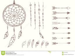 Native Dream Catchers Drawings Feather Dream Catcher Drawing ClipartXtras 74
