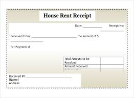 microsoft word receipt templates   ms word format house rent receipt template