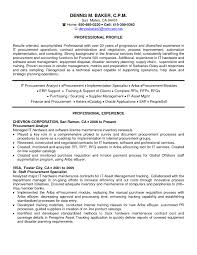 Resume Template Contract Specialist Resume Example Free Career