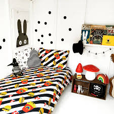junk food deluxe childrens bedding in cotton by love frank on bedroom percent cotton bedding