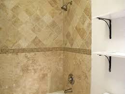 travertine tile tub surround. Wonderful Tile Travertine Tile Bathtub Surround Idea  Brushed Nickel Fixtures Bathroom For Tile Tub Surround T