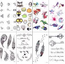 акварель гаджеты мультфильм дети временные татуировки и детей