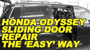 odyssey sliding door repair the easy way