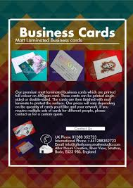 Matt Laminated Business Cards Made Easy From Only 2000 Visually