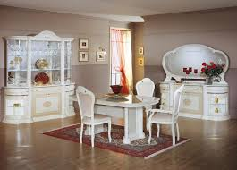 classic dining room ideas. White Classic Dining Room Set With Small Rugs Under Oval Table Ideas