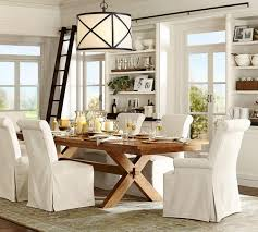 Pottery Barn Kitchen Curtains Toscana Extending Dining Table Pottery Barn Au