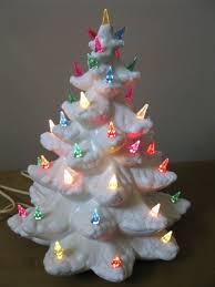 Ceramic Christmas Tree  Lights Vintage New  EBayCeramic Tabletop Christmas Tree With Lights