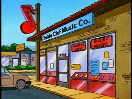 Treble Clef Music Store Treble Clef Music Co King Of The Hill Wiki Fandom Powered By Wikia