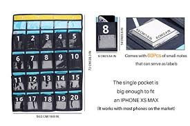 Winit Classroom Pocket Chart For Cell Phones Or Calculators