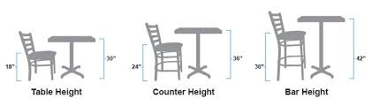 how tall are counter height stools. Table Height Chairs, Counter Stools, And Bar Stools How Tall Are R