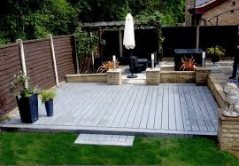 how to lay decking on uneven ground 2