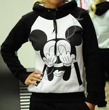 <b>2016 New Autumn</b> Mickey Printed hoodies for <b>women</b> Tracksuits ...