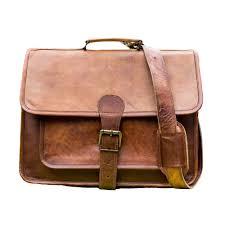 vintage leather laptop bag 16 messenger handmade briefcase cross shoulder bag