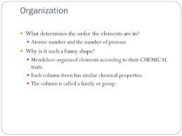 Please follow along on the worksheet I gave you. Periodic Table ...