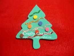 CraftyCraftedcom  Crafts For Children » Christmas Tree OrnamentsFoam Christmas Tree Crafts