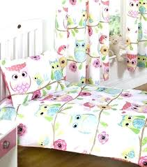 purple toddler bedding owl set and friends duvet quilt boy crib sets kids bedd purple toddler bedding