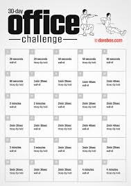 30 day office challenge by darebee