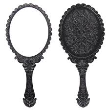 vintage hand mirror clipart. pin mirror clipart fancy hand #5 vintage t